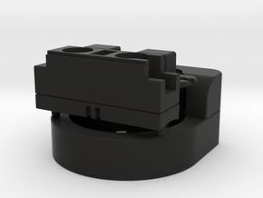 Darth Vader ROTJ lightsaber prop: ALL PARTS bundle in Black Natural Versatile Plastic