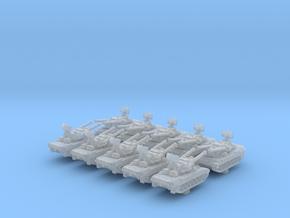 1/700 German Flakpanzer Gepard SPAAG x10 in Smoothest Fine Detail Plastic