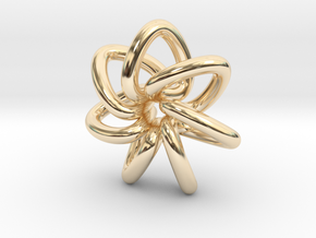Seven Star in 14k Gold Plated Brass