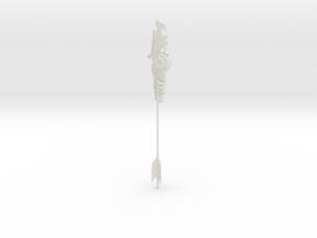 """BotW"" Ancient Arrow in White Natural Versatile Plastic: 1:12"