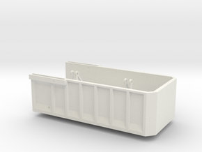 AS18 Grain Bed in White Strong & Flexible
