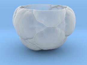 Fractal Flower Pot in Smooth Fine Detail Plastic