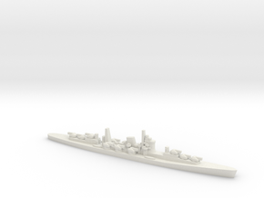 1/800 IJN Projected Never Were AA Cruiser in White Natural Versatile Plastic
