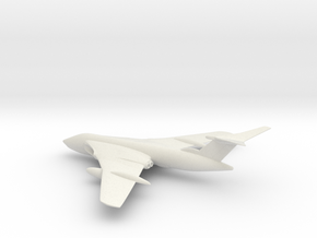 Handley Page Victor in White Natural Versatile Plastic: 1:200