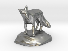 Xeno Borellis, Druid in Fox Form in Natural Silver
