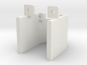 Tube Protector in White Natural Versatile Plastic