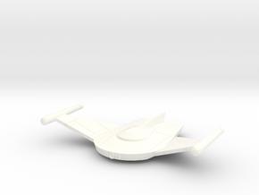 V-8 Bird Of Prey in White Processed Versatile Plastic