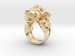 Greedy Money Toad Ring: JinChan in 14K Yellow Gold: 9 / 59