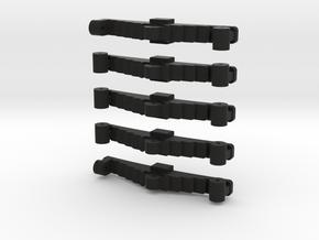 Egine Springs Set 2 in Black Natural Versatile Plastic