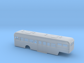NS Bus Oplegger carrosserie 1:148 in Smooth Fine Detail Plastic