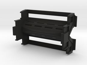 SwedishVaper N1 Quad 18650 in Black Natural Versatile Plastic