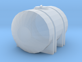 1/64 125 Gallon Tank in Smooth Fine Detail Plastic