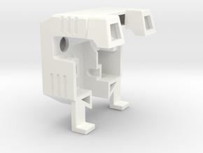 Cameraman Backpack Mk.I in White Processed Versatile Plastic
