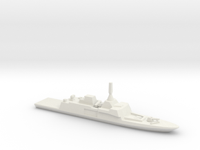 Gowind-class corvette, 1/1250 in White Strong & Flexible