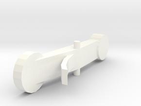 A=415 MIM2609 Rottenburgh baroque oboe Eb key in White Processed Versatile Plastic