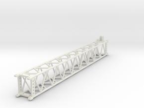 GMK 6300L lattice extention 8m part 1 in White Natural Versatile Plastic