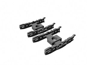 N Scale NYCTA R-10 Wheelframes in Smoothest Fine Detail Plastic