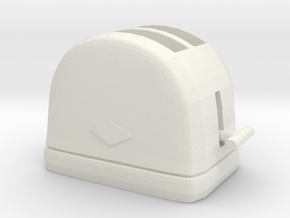 Printle Thing Toaster - 1/24 in White Natural Versatile Plastic