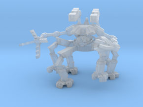 Spider Crawler Mech in Smooth Fine Detail Plastic