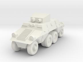 1/87 Austrian ADGZ Armored Car in White Natural Versatile Plastic
