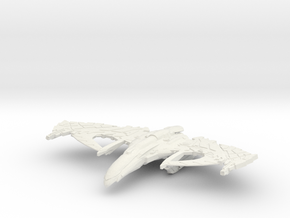Romulan Cordel Class  WarBird in White Strong & Flexible