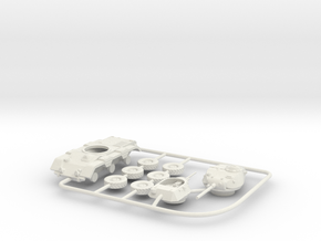 1/72 M38 Wolfhound in White Natural Versatile Plastic