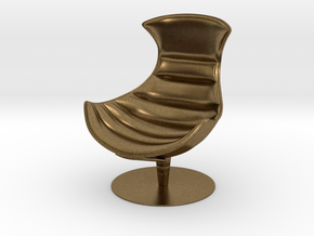 Lobster Armchair in Natural Bronze