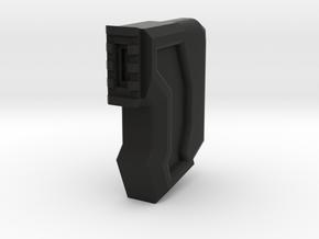 HMP Shoulder Stock (Halo M7 SMG Inspired) in Black Natural Versatile Plastic