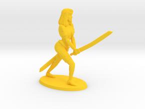54mm Blade Mistress Bree in Yellow Processed Versatile Plastic