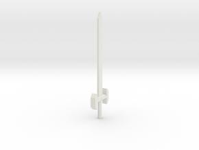 Cyberblade in White Natural Versatile Plastic