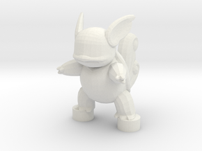 Custom Wartortle Inspired Lego in White Strong & Flexible