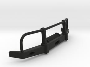 RC Toyota Hilux Bullbar 1:35 scale in Black Natural Versatile Plastic