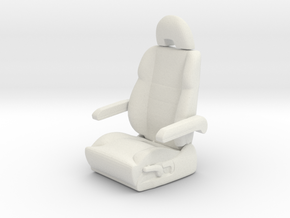 Printle Thing Plane Seat - 1/24 in White Natural Versatile Plastic