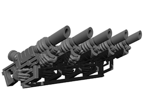 Laser Rifle Weapons Pack in Smooth Fine Detail Plastic