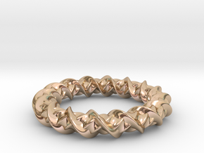 Twistic in 14k Rose Gold: Extra Small