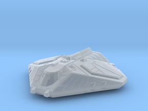Cargo Shuttle, Flying in Smooth Fine Detail Plastic