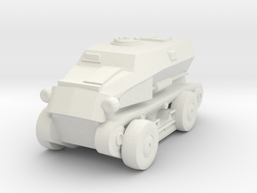 1/100 SdKfz.254 in White Natural Versatile Plastic