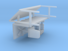 Office Furniture 1-87 HO Scale in Smooth Fine Detail Plastic