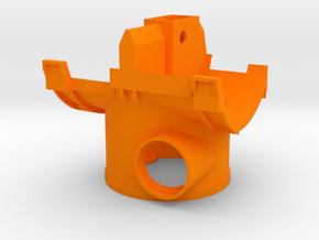 Wurfradgehaeuse Bruder Schneeschleuder in Orange Processed Versatile Plastic