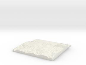 W248 S137 E262 N151 Ilfracombe Devon landscape in White Natural Versatile Plastic