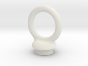 Torus Pommel in White Natural Versatile Plastic