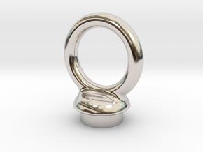 Torus Pommel in Platinum