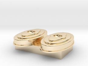 air cleaner 1 18 scale in 14k Gold Plated Brass: 1:18