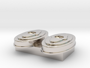 air cleaner 1 18 scale in Rhodium Plated Brass: 1:18