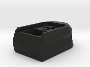 PPQ Base Plate Extended in Black Natural Versatile Plastic