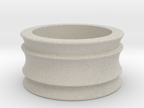Female Adapter in Natural Sandstone