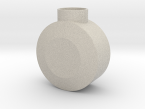 Round Pommel in Natural Sandstone