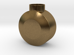Round Pommel in Natural Bronze