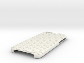 Iphone 6 Wave Case in White Natural Versatile Plastic