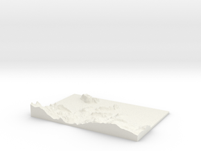 Llandudno W273 S375 E288 N385 in White Strong & Flexible